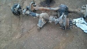 Toyota landcruiser 1993 diesel ute 75 series complete front diff and hubs
