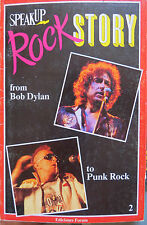 ROCK STORY : BOB DYLAN-THE WHO-JIMI HENDRIX-THE CLASH-ETC..(ENGLISH BOOK) 1986