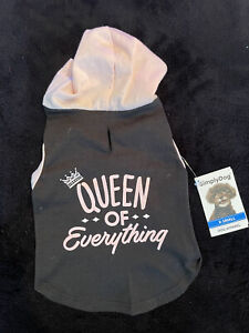 Simply Dog Queen Of Everything Dog Hoodie XS