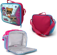 LOL Surprise! Kids Lunch Bag Thermal Insulated Cooler Bag School Food Travel 225