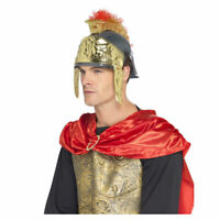 Roman Warrior General Soldier Centurion Helmet Costume Accessory Men Adult Hat