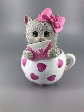Hamilton Collection-Kitty Cat Cups Of Affection-15G-My 1 True