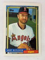 Bert Blyleven Los Angeles Angels 1992 Topps Baseball Card 375