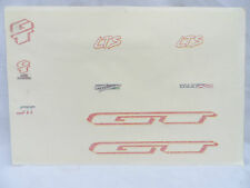 Vintage NOS GT LTS World Champion Decal Sheet Mountain Bike MTB