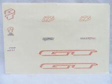 Vintage NOS GT LTS World Champion Decal Sheet Mountain Bike MTB