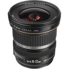 Canon EF-S 10-22mm f/3.5-4.5 USM SLR Lens for EOS Digital SLRs ***BRAND NEW***