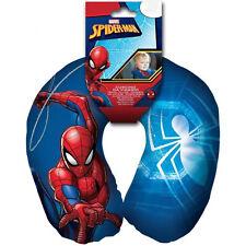 Almohada Anatomica de Viaje Coche Cuello Niño Niña Tacto Peluche Spiderman 6434