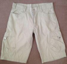 "BNWOT Mens Combat style Shorts - M - Waist 34"" - Chiemsee - Beige"