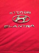 2007 HYUNDAI ELANTRA REAR LID CHROME EMBLEM LOGO BADGE SIGN LETTERS