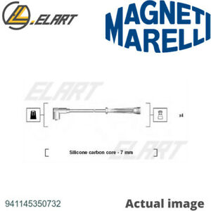 IGNITION CABLE KIT FOR RENAULT CLIO I B C57 5 357 D7F 730 MAGNETI MARELLI 1429