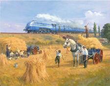 LMS Coronation Scot Duchesse Railway Engine Locomotive Train à vapeur carte d'anniversaire