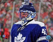 "2014 WINTER CLASSIC Jonathan Bernier ""Toronto Maple Leafs"" LICENSED 8x10 photo"