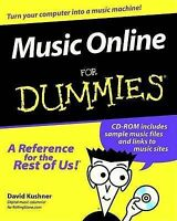 Music Online for Dummies (For Dummies (Computers)), Kushner, David, Very Good Bo