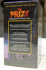 The Prize: The Epic Quest for Oil, Money & Power - Series (VHS, 1993, 4-Tape...