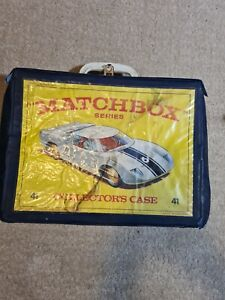 Matchbox Series 41 Collectors Case And Cars