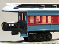 LIONEL POLAR EXPRESS OBSERVATION TRAIN CAR O GAUGE passenger 6-84328 NEW DESIGN
