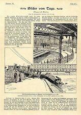 Die Eisenbahnkatastrophe im Bahnhof von Ludwigshafen am 9. Mai 1901