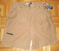 Jamie Sadock Shorts Golf Tan Brown Casual Hipster Womens Size 16 Vintage 90s New