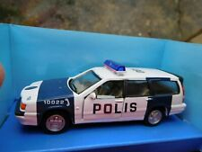 VOLVO 850 Type Cararama POLIS Police Estate 1/43 scale Model Boxed * NEW