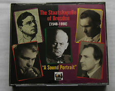 Tribute to the STAATSKAPELLE of DRESDEN (1931-1959) 4CD box TAHRA TAH 324-327