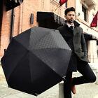 Full Automatic Umbrella Business Men Anti-UV Sun/Rain Windproof Folding Umbrella