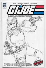 GI Joe Real American Hero #255 IDW Comic 2018 Larry Hama 1:10 Variant Cover