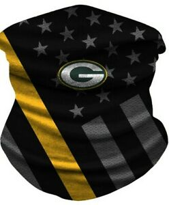 Green Bay Packers Ice Silk Neck Gaiter Face Covering