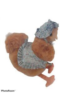 "Vintage Beatrix Potter Sally Henny Penny Chick Chicken Plush Stuffed Animal 16"""
