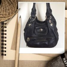Marc By Marc Jacobs Softy East/West Jorie Black Purse 100% Leather