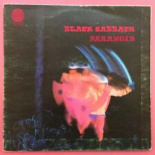 Black Sabbath - Paranoid - Vertigo 6360-011 VG+ to Ex Condition - Swirl VO Code
