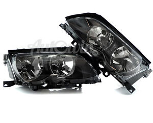 BMW 3 SERIES E46 1997-2005 HALOGEN HEADLIGHT LEFT And RIGHT SIDE GENUINE OEM NEW