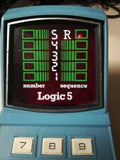 Logic 5 MB Milton Bradley like tabletop nintendo game & Watch