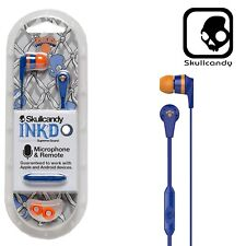 Skullcandy Ink'd 2.0 In-Ear Headphones with Mic - NBA New York Knicks