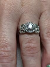 Victoria Wieck 925 Sterling Silver CZ Ring size 8