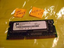 Micron 4MB 144p PC100 4c 256x32 MT4LG51264KHG-83 from iMac G3 M4984