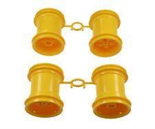 Tamiya 309335036 - Set of Rims Lunch Box Yellow (2+2) - New