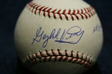 "GAYLORD PERRY AUTOGRAPHED SIGNED BASEBALL SAN FRANCISCO GIANTS "" NO HITTER 68"""