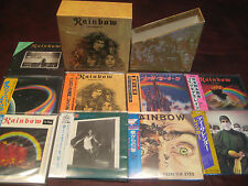 RAINBOW ROCK N ROLL ORIGINAL 9 REPLICA JAPAN OBI 2002 CD SET ONE TIME SPECIAL