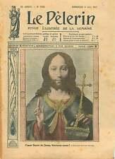 Icône Coeur Sacré de Jésus Christ Enseignant de Quentin Metsys 1911 ILLUSTRATION