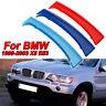 M-SPORT 3 Colore Gentilmente Griglia Striscia Cover Clip Orlo per BMW X5 E53