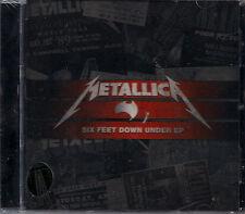 Metallica Six Feet Down Under Live CD EP New Import Australia Through The Never