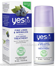 Yes To BLUEBERRIES Fine Lines & Wrinkles Organic Eye Firming Treatment 15ml