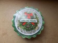 Yankee Candle Usa Rare Christmas Wreath Wax Tart