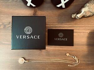 Versace Kette Goldkette mit Anhänger unisex OVP Inkl. Etikett Damen Herren