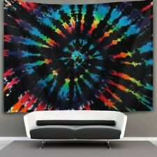 Mandala Beach Tapestry Bedspread Intricate Indian Hippie Tapestries Wall Decor