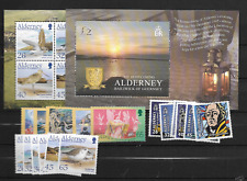 2005 MNH Alderney year collection, postfris