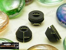 ♫ 3 PCS MOTOR GROMMETS JUKEBOX RECORD CHANGERS BSR, RCA, Admiral, VM etc ....♫