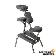 Silla de masaje portátil con estructura de acero Cleid Modelo WK-F018