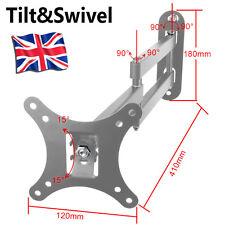 Swivel Tilt Wall Mount TV Bracket 19 22 23 24 26 30 LED LCD Plasma VESA 75 100