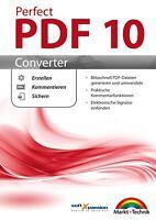 PDF 10 Converter - PDF Dateien erstellen,sichern,kommentieren- Download Version